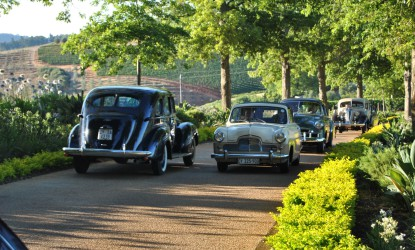 Vintage Cars, Stellenbosch